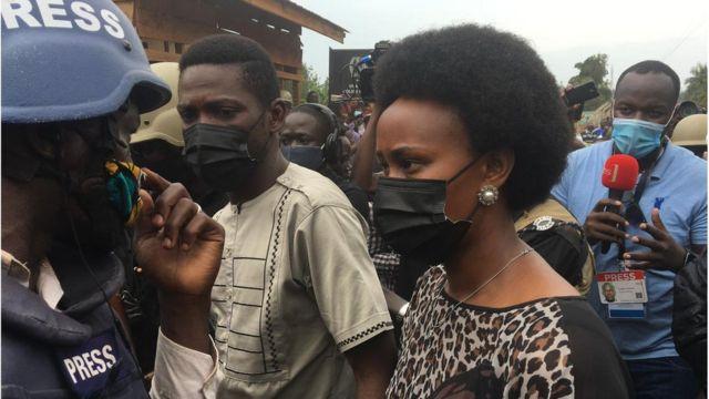 Uganda Election Day 2021: Bobi Wine, IM WIFE don vote for Ugandan presidential election day inside total internet shutdown