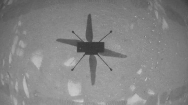 The Ingenuity helicopter remained in flight
