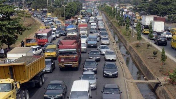 ازدحام مروري في مدينة لاغوس