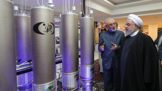 After the US withdrawn from the nuclear deal, Iran increased uranium enrichment to 4.5%