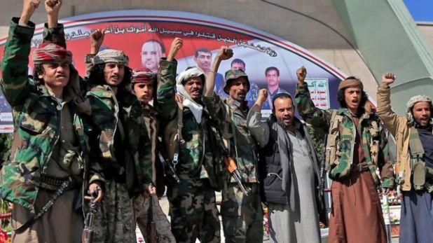 مقاتلون من جماعة الحوثي