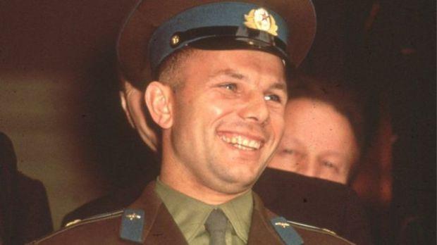 Yuri Gagarin.