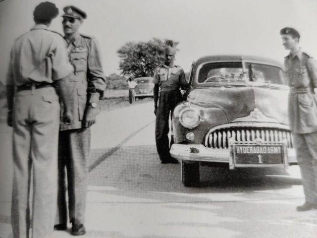 হায়দ্রাবাদের নিজামের সেনাবাহিনীর অফিসাররা