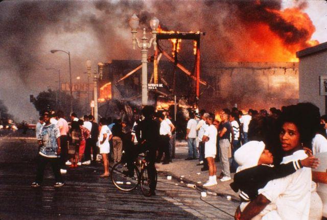 1992ஆம் ஆண்டு லாஸ் ஏஞ்சலஸில் நடைபெற்ற வன்முறை