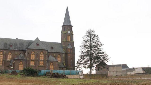 Iglesia en Manheim.