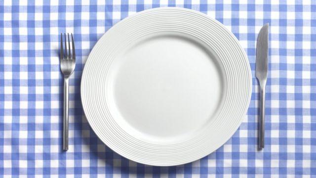 Prato sem comida