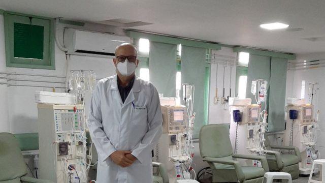 José Roberto Nogueira Lima, gestor da clínica em Itaiabana/SE