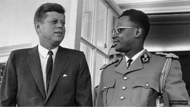 During the Cold War, the US supported a military coup by Mobutu Sese Seko as it was eager to prevent Shinkolobwe falling into Soviet hands (Credit: Getty Images)