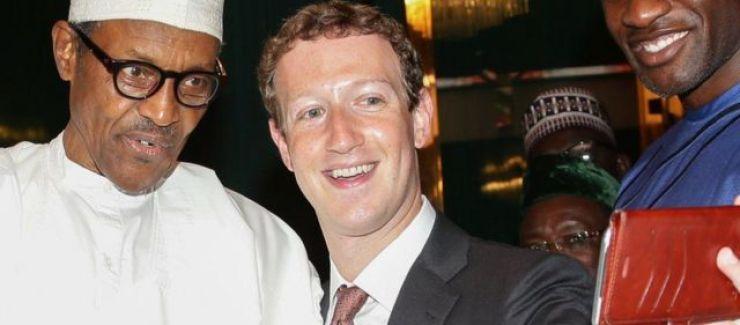 Buhari da Mark Zuckerberg