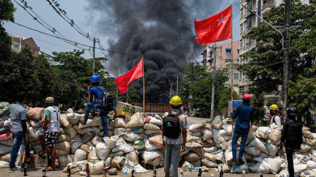 Myanmar darbe karşıtı eylemler