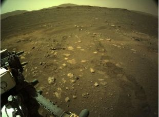 """Perseverance: What was the NASA robot's first """"walk"""" on Mars"""
