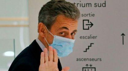 Николя Саркози во время слушаний в декабре 2020 года