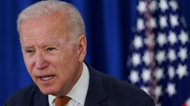 Joe Biden, presidente de Estados Unidos, en rueda de prensa