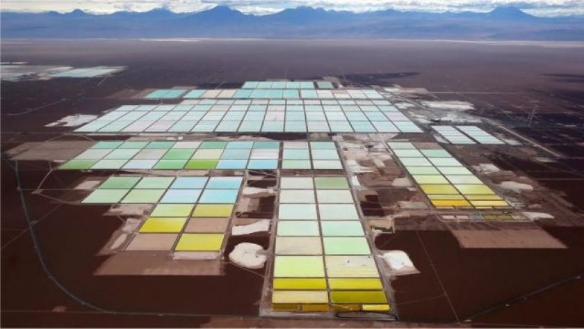 Lithium Extraction Field