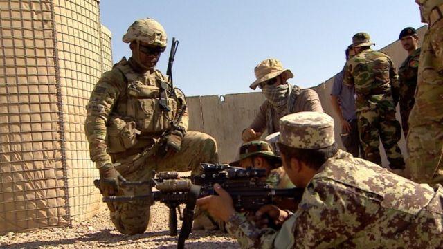 13,000 oo askari ayaa Mareykanka ka joogto Afghanistaan