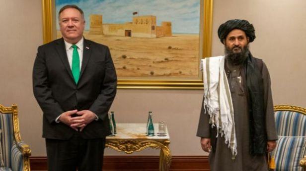 Afganistán | Qué es el Acuerdo de Doha firmado entre el gobierno de Trump y el Talibán y por qué ha sido clave para que los islamistas recuperen el poder - BBC