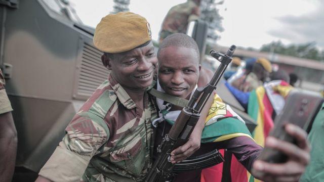 Soldat zimbabwéen
