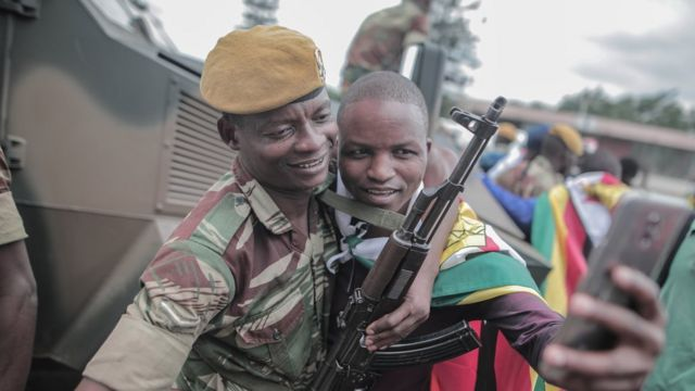 Zimbabwean soldiers