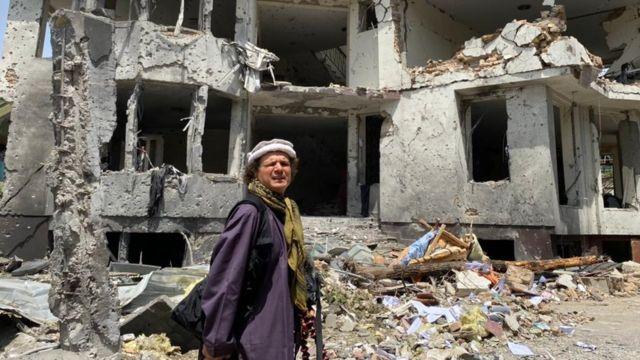 Jorge Said reportando desde Kabul.