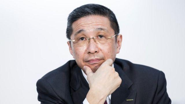 Nissan Motor Company CEO Hiroto Saikawa, 12 March 2019 in Yokohama. Japan
