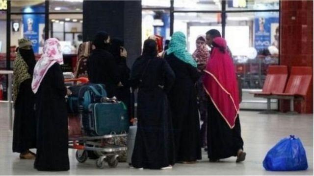 প্রতি বছর বাংলাদেশ থেকে অনেক নারী শ্রমিক যান সৌদি আরবে