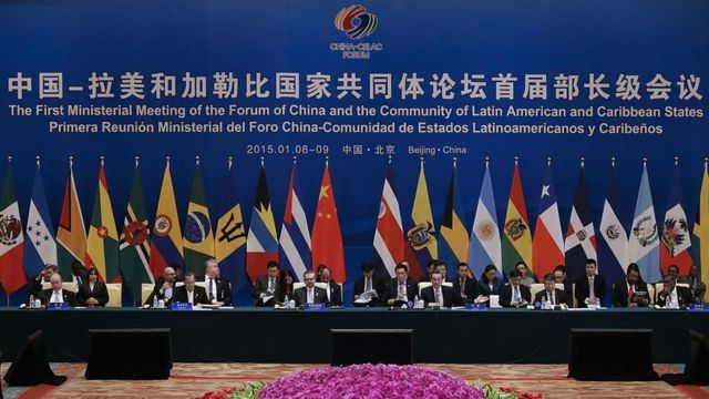 Celac Summit with China.