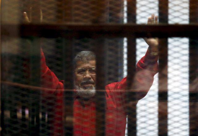 The ousted president, Mohamed Morsi,