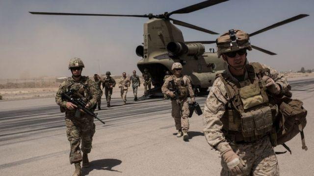 Fuezas de EE.UU. en Helmand