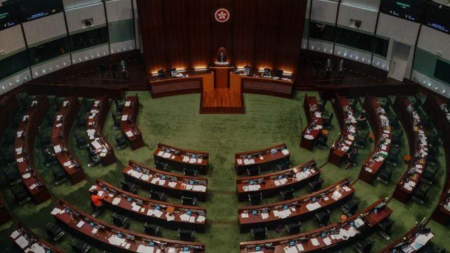香港立法会议事厅(4/6/2020)