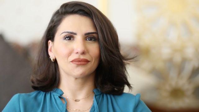 الناشطة السعودية أماني العجلان