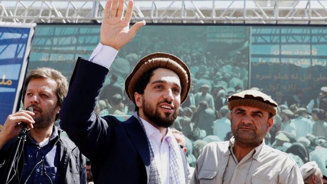 Ahmad Massoud, in 2019