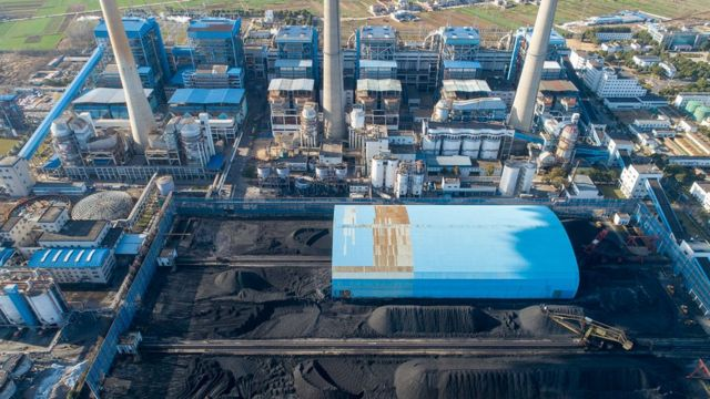 燃煤电厂仍然是中国能源生产的重要组成部分。