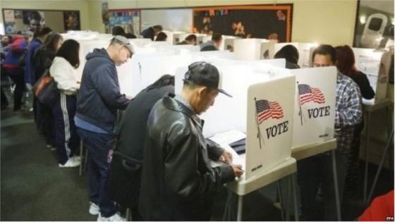 American presidential election