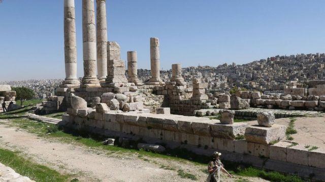 معبد روماني في عمان