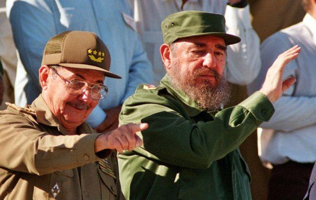 피델 카스트로와 그의 동생 라울은 60년간 쿠바를 이끌었다