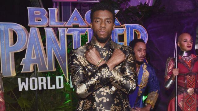 Chadwick Boseman en 2018.