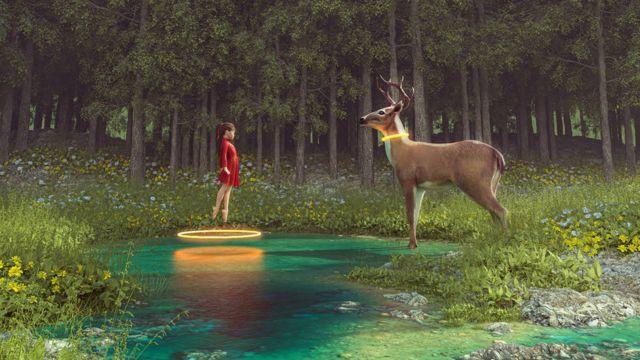 다리우스의 작품 '커넥션'은 약 3만 5천 달러에 팔렸다