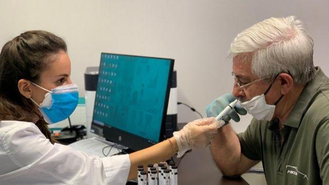 Técnica mede olfato de paciente