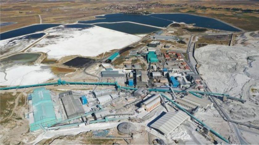 The mine of Eti Mine Works