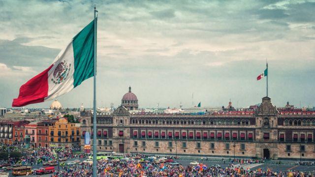 El zócalo de Ciudad de México