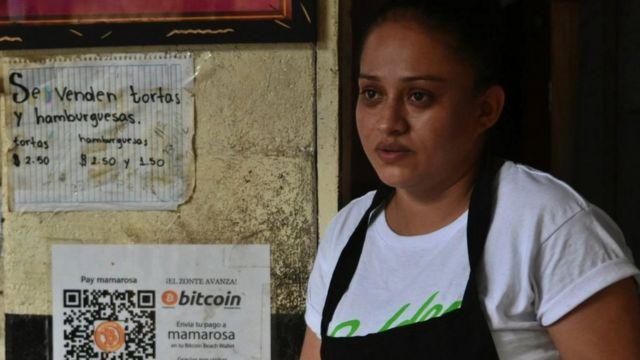 Vendedora en El Zonte