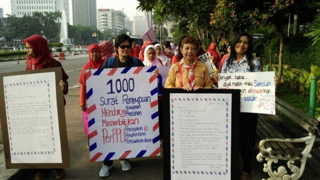 Aksi stop perkawinan anak
