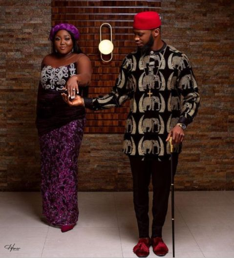 Stan Nze wife: Nollywood Stanley Ebuka Nzediegwu and Blessing Jessica Obasi wedding