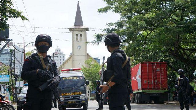 Kepolisian mengatakan menjamin keamanan masyarakat dalam perayaan Paskah.