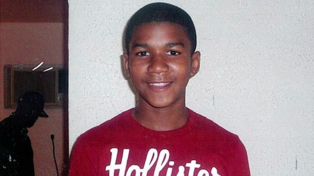 Trayvon Martin yyishwe mu 2012