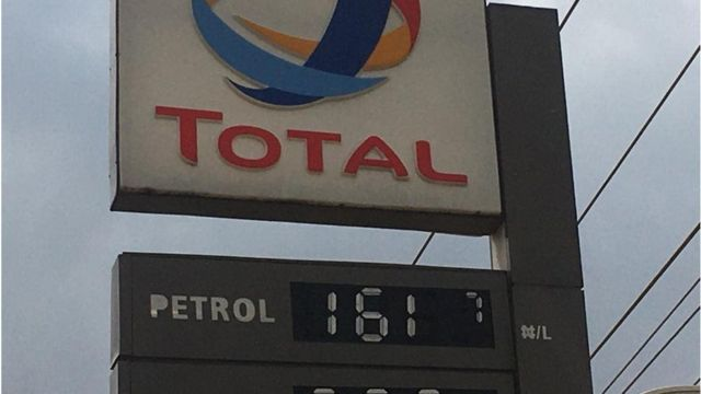 Total filling station Abuja