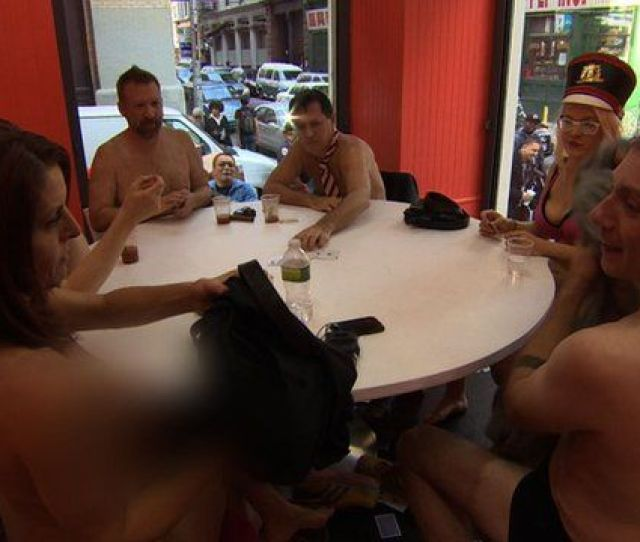 The Naked Truth Using Art And Strip Poker To Enlighten New York
