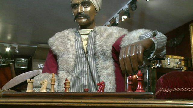 Meet the Mechanical Turk an 18th Century chess machine