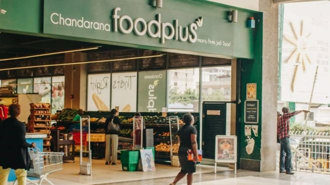 Image result for Kenya race row supermarket Chandarana Foodplus defies governor