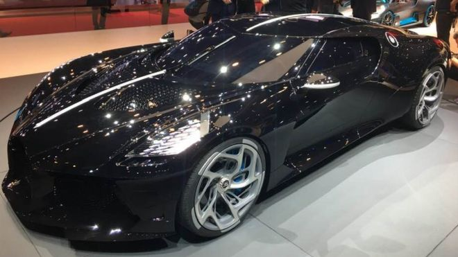 bugatti unveils the world